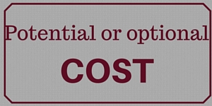 Potential or optional COST